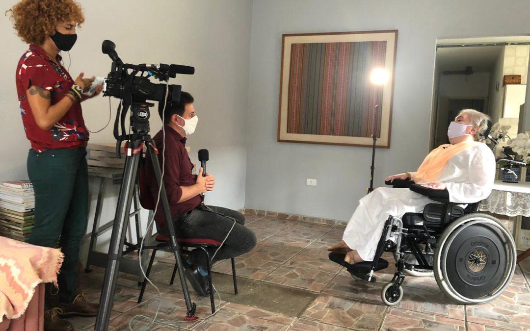 Projeto Caliandra, da AME, é tema de reportagem da Globo